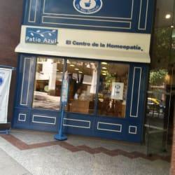 Patio Azul en Santiago