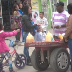 Punto Ambulante Chontaduro Calle 57A en Bogotá