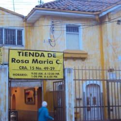 Tienda de Rosa María C en Bogotá