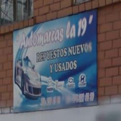 Automarcas La 19 en Bogotá