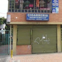 Cigarrería Montebello en Bogotá