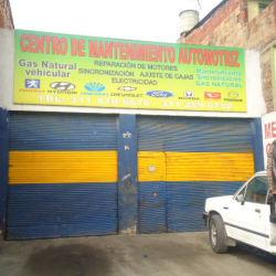 Centro de Mantenimiento Automotriz en Bogotá