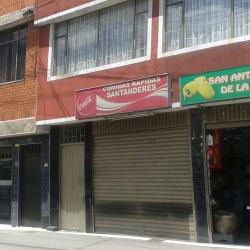Comidas Rápidas Santanderes  en Bogotá