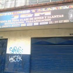 Auto Rines y Llantas  J & M en Bogotá
