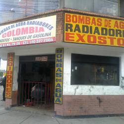 Bombas de Agua Radiadores Colombia en Bogotá