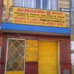 Almacén Punto 2000 en Bogotá