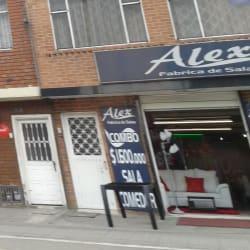 Alex Fábrica de Salas en Bogotá