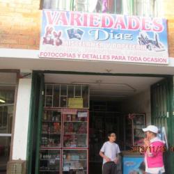 Variedades Díaz en Bogotá