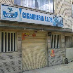 Cigarrería La 78 en Bogotá