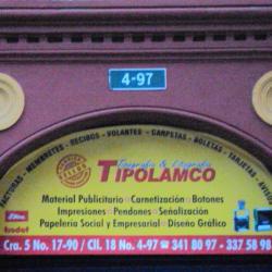 Tipolamco Tipografía & Litografía en Bogotá