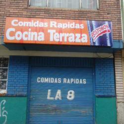 Comidas Rápidas Cocina Terraza en Bogotá