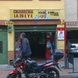 Cigarrería La 28 E y E en Bogotá