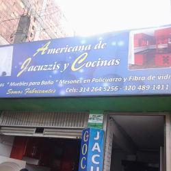 Americana de Jacuzzis y Cocinas en Bogotá