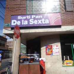Surti Pan de la Sexta en Bogotá