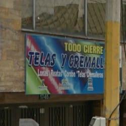 Todo Cierre Telas y Cremalleras en Bogotá