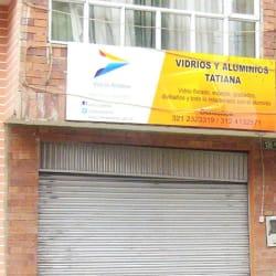 Vidrios y Aluminios Tatiana en Bogotá