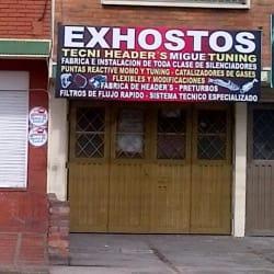 Exhostos Tecni Header's Migue Tuning en Bogotá