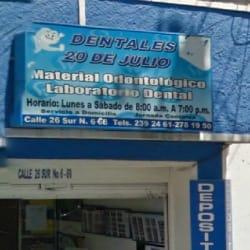 Dentales 20 de Julio en Bogotá