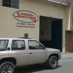 Sincromotores Alcázares en Bogotá