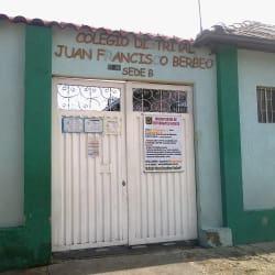Colegio Distrital Juan Francisco Berbeo en Bogotá