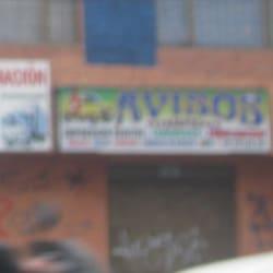 Avisos Avenida 1 de Mayo con 52B en Bogotá