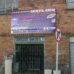 Calentadores Servilider en Bogotá