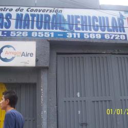 Centro de Conversión Gas Natural Vehicular en Bogotá