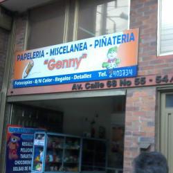 Papelería Miscelánea Piñatería Genny en Bogotá