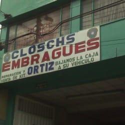 Clutch Embragues Ortiz en Bogotá