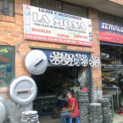 Lujos y Accesorios La Mona en Bogotá