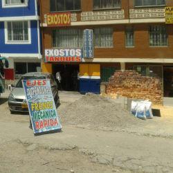 Exostos Tanques Calle 72 en Bogotá