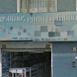 Insumos Para La Moda en Bogotá