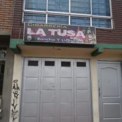 Cigarrería La Tusa en Bogotá