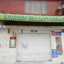 Cigarrería Carabelas en Bogotá