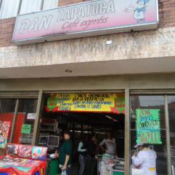 Pan Zapatoca Café Express en Bogotá