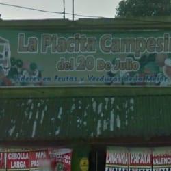 La Placita Campesina del 20 de Julio en Bogotá