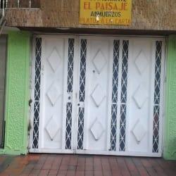 Restaurante El Paisaje en Bogotá