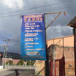 Restaurante Fares en Bogotá
