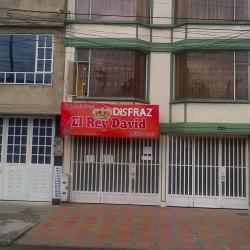 Disfraces El Rey David en Bogotá