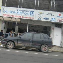 Universal de Repuestos en Bogotá