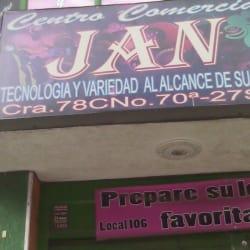 Centro Comercial Jan en Bogotá