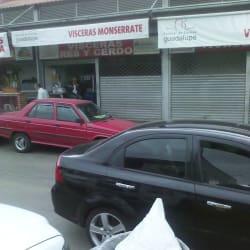 Vísceras Monserrate en Bogotá