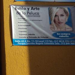 Estilo y Arte De La Peluca en Bogotá