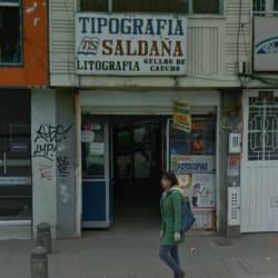 Tipografía Saldaña en Bogotá