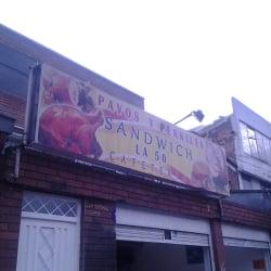 Pavos y Perniles Sandwich La 50 en Bogotá