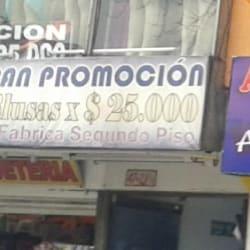 Gran Promoción Blusas en Bogotá