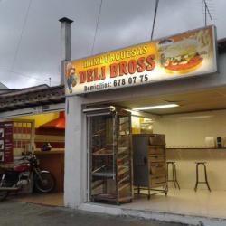 Hamburguesa Delibross en Bogotá