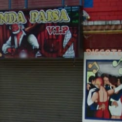 Fonda Paisa VIP en Bogotá