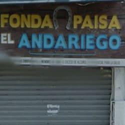 Fonda Paisa El Andariego en Bogotá