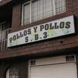 Pollos y Pollos S. B. 3 en Bogotá